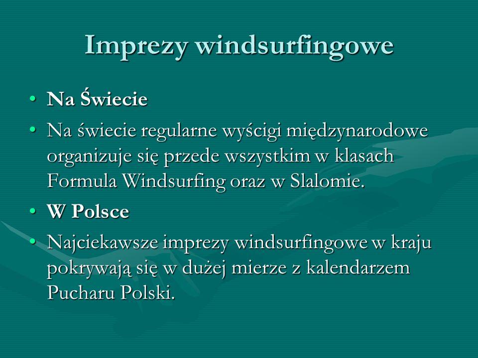 Imprezy windsurfingowe