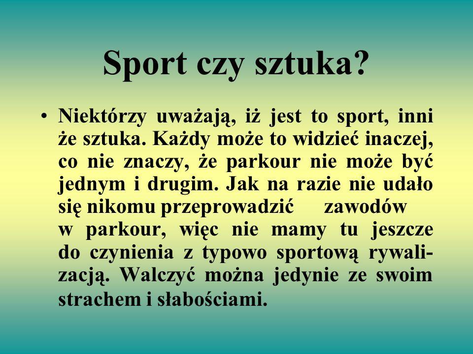 Sport czy sztuka