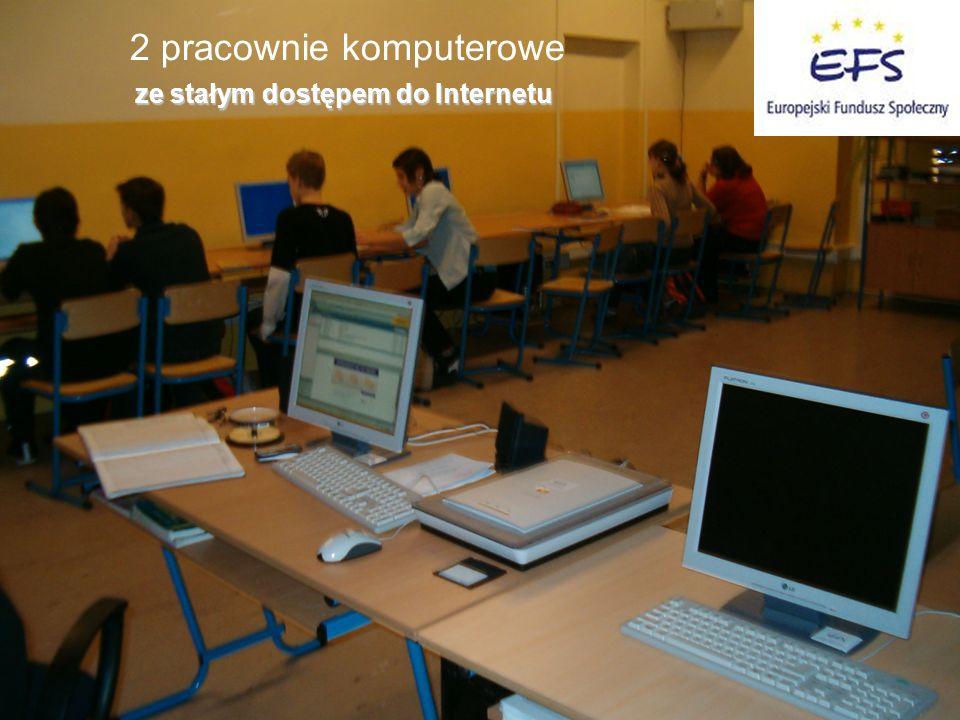 2 pracownie komputerowe