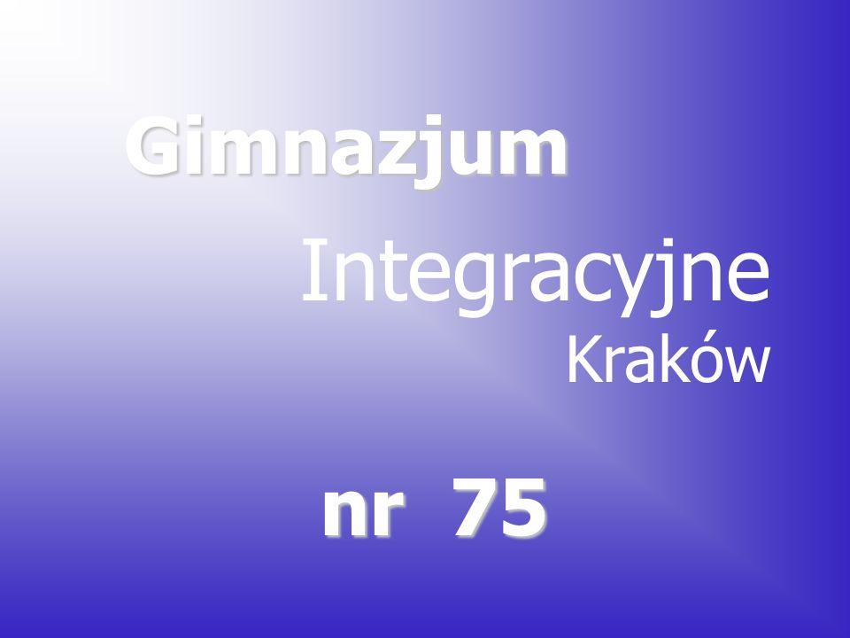 Gimnazjum Integracyjne Kraków nr 75