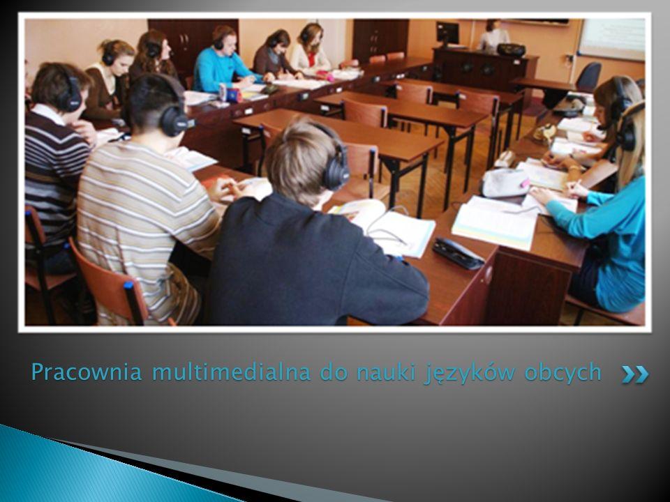 Pracownia multimedialna do nauki języków obcych