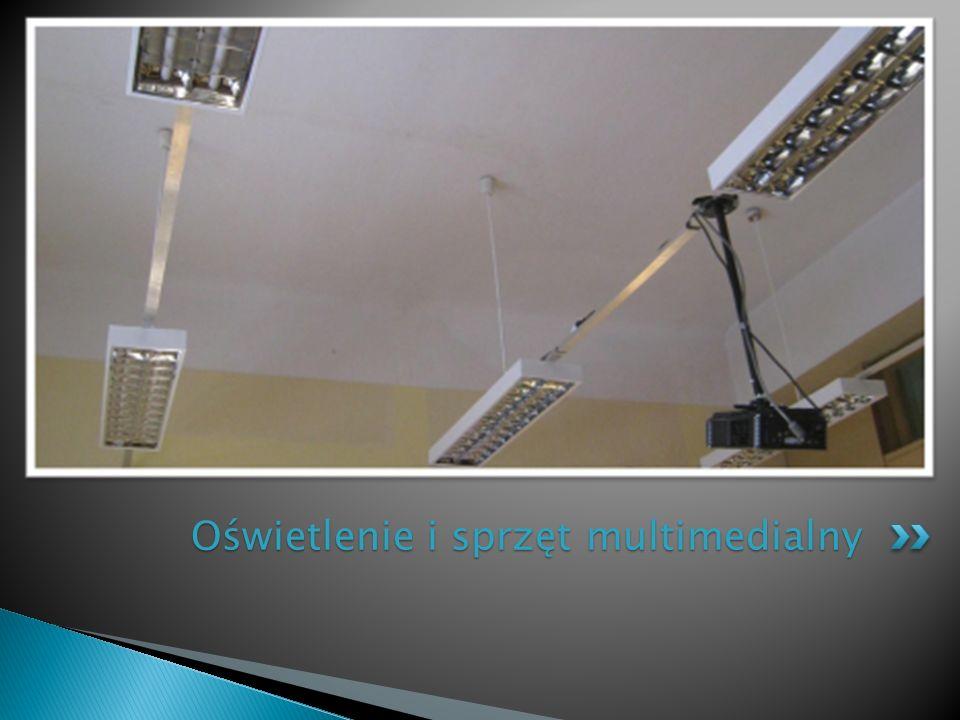 Oświetlenie i sprzęt multimedialny