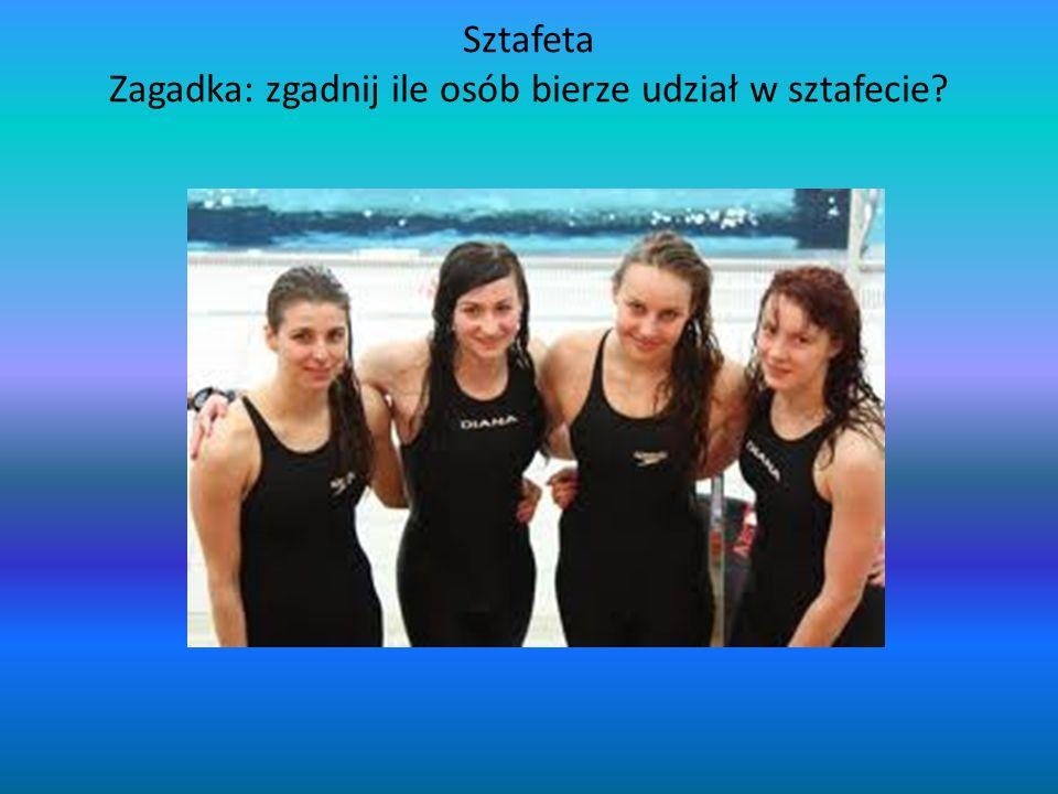 Sztafeta Zagadka: zgadnij ile osób bierze udział w sztafecie