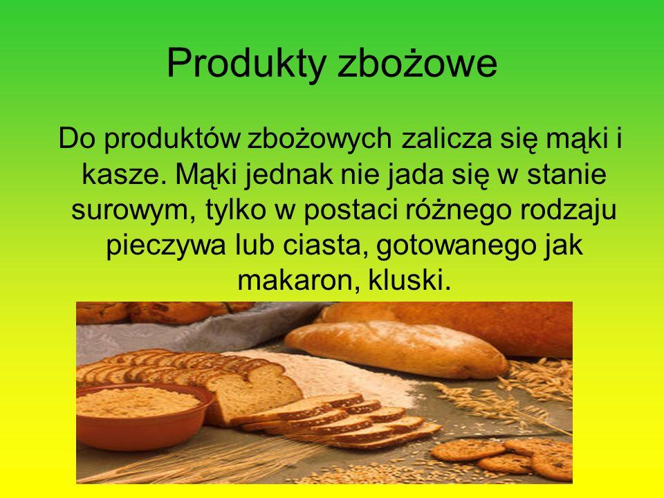 Produkty zbożowe
