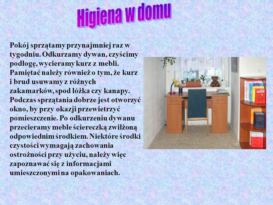 Higiena w domu