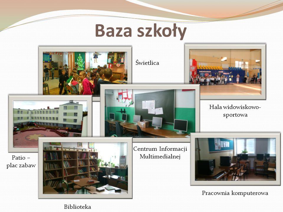 Baza szkoły Świetlica Hala widowiskowo-sportowa