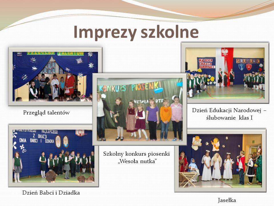 Imprezy szkolne Dzień Edukacji Narodowej – ślubowanie klas I