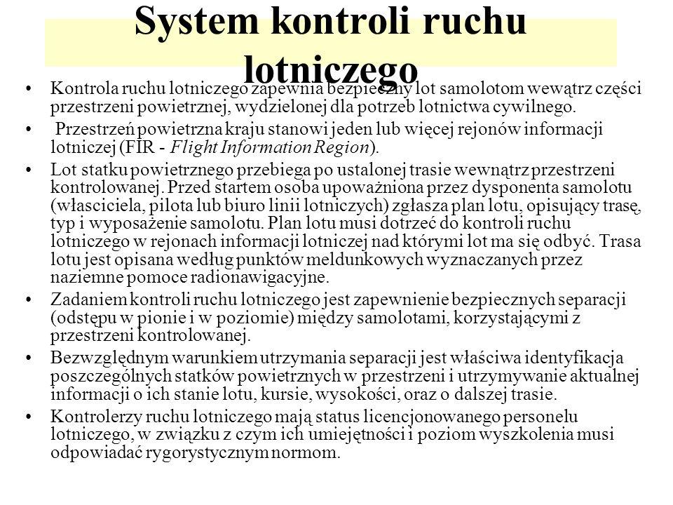 System kontroli ruchu lotniczego
