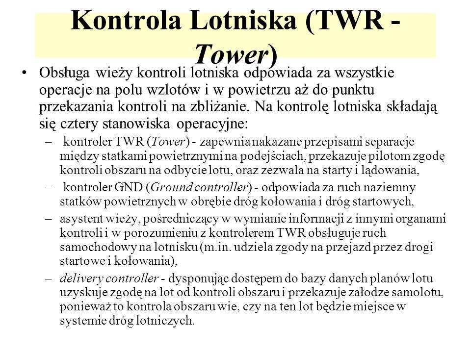 Kontrola Lotniska (TWR - Tower)
