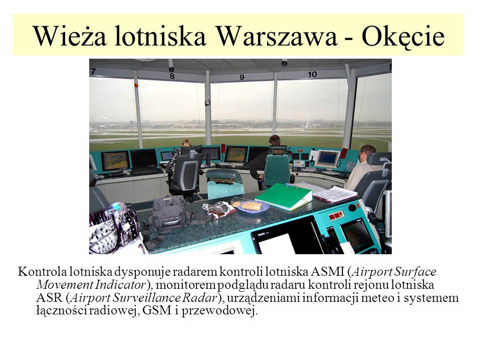 Wieża lotniska Warszawa - Okęcie