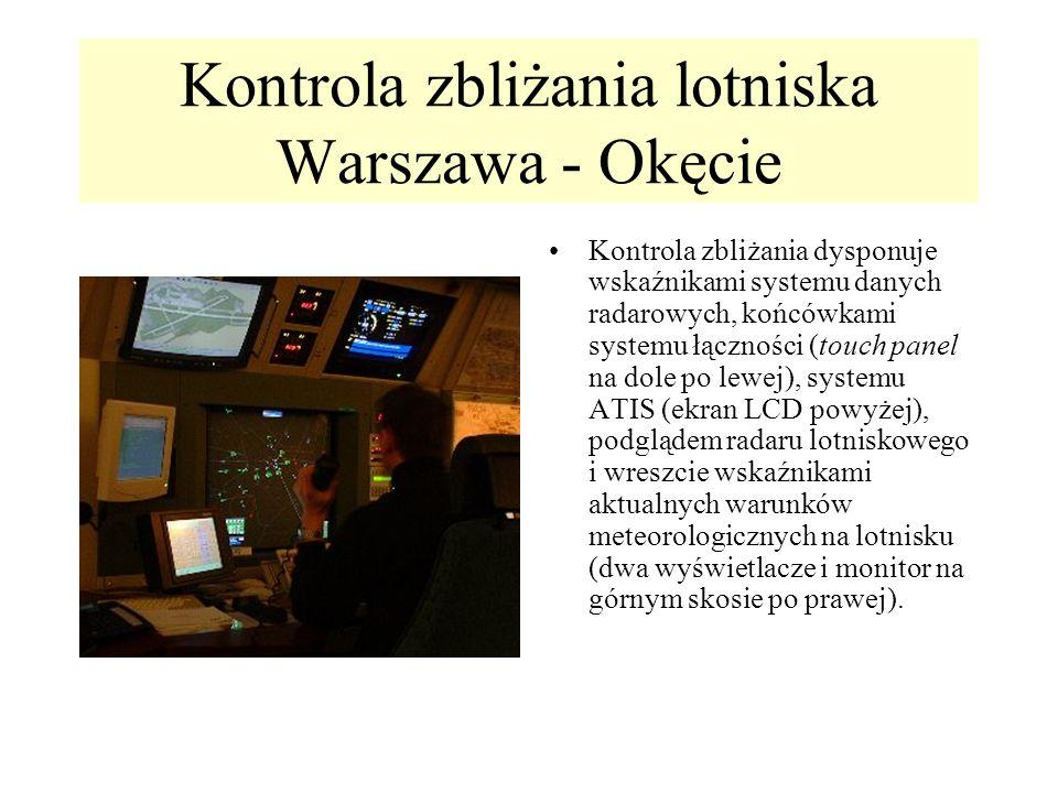 Kontrola zbliżania lotniska Warszawa - Okęcie