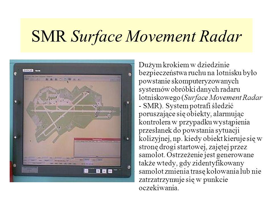 SMR Surface Movement Radar