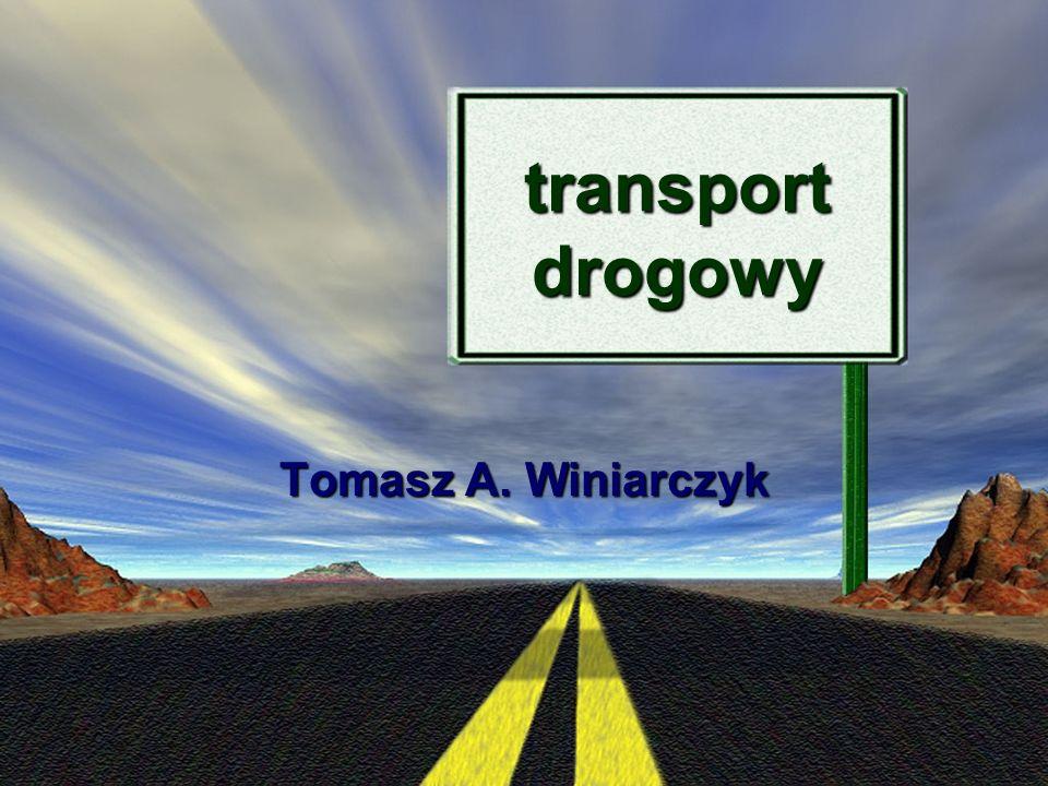 transport drogowy Tomasz A. Winiarczyk