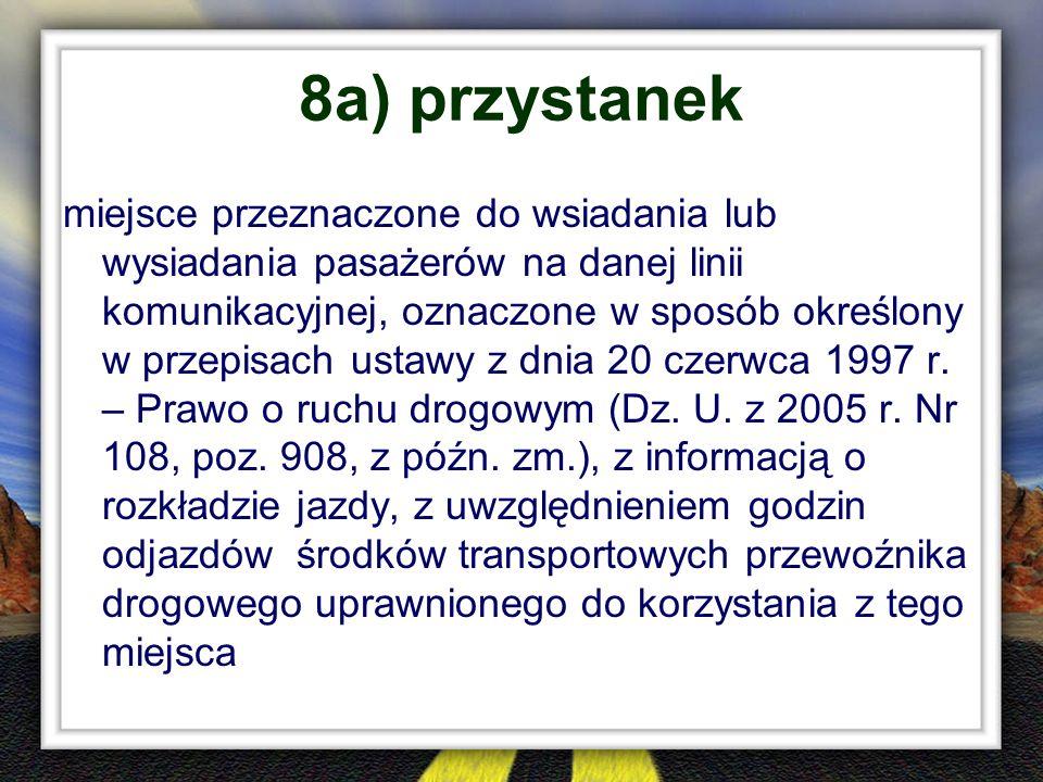 8a) przystanek