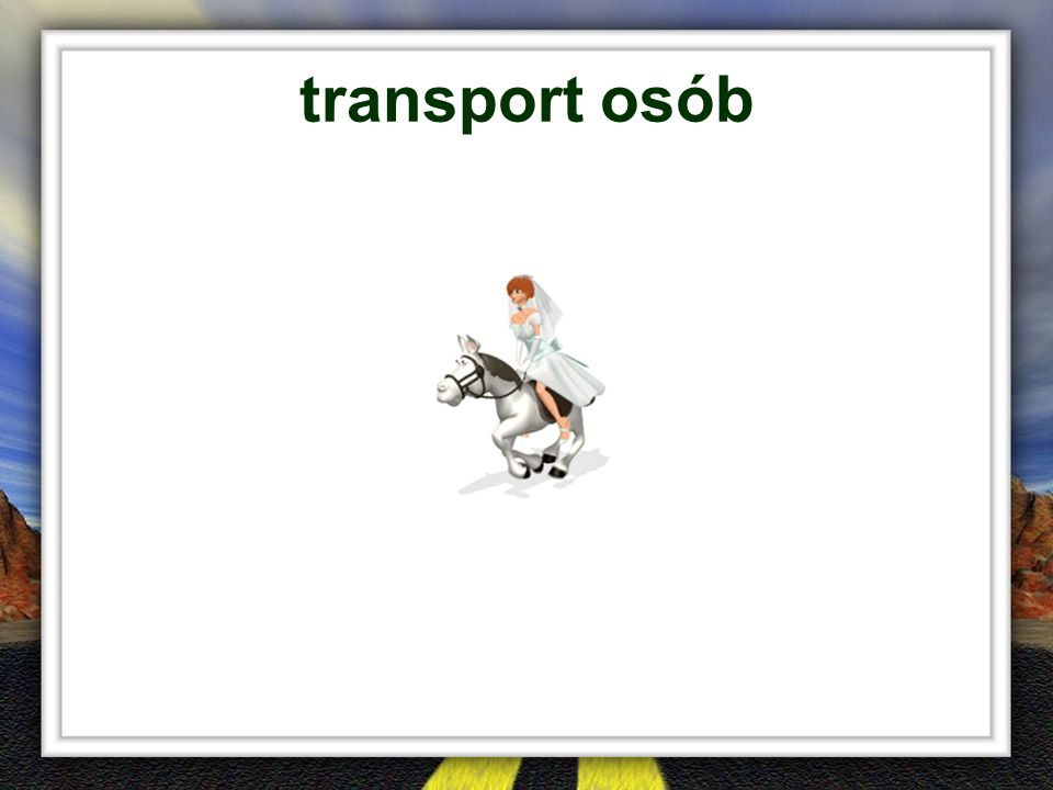 transport osób