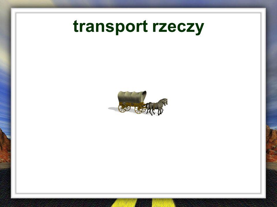 transport rzeczy
