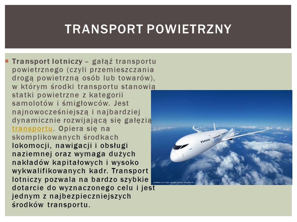 Transport powietrzny