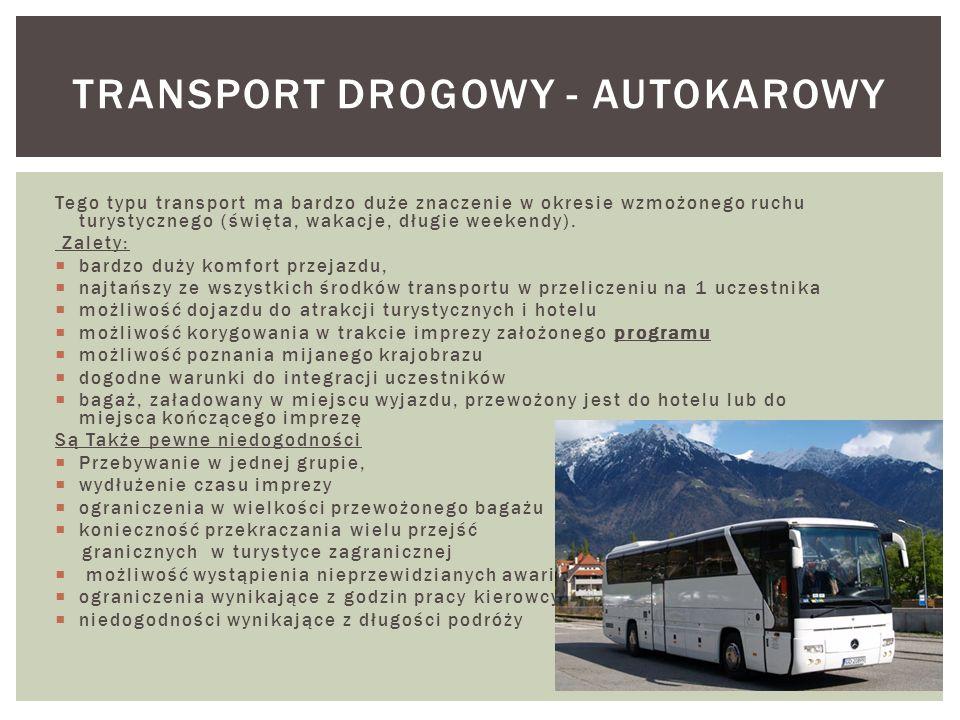 Transport drogowy - autokarowy
