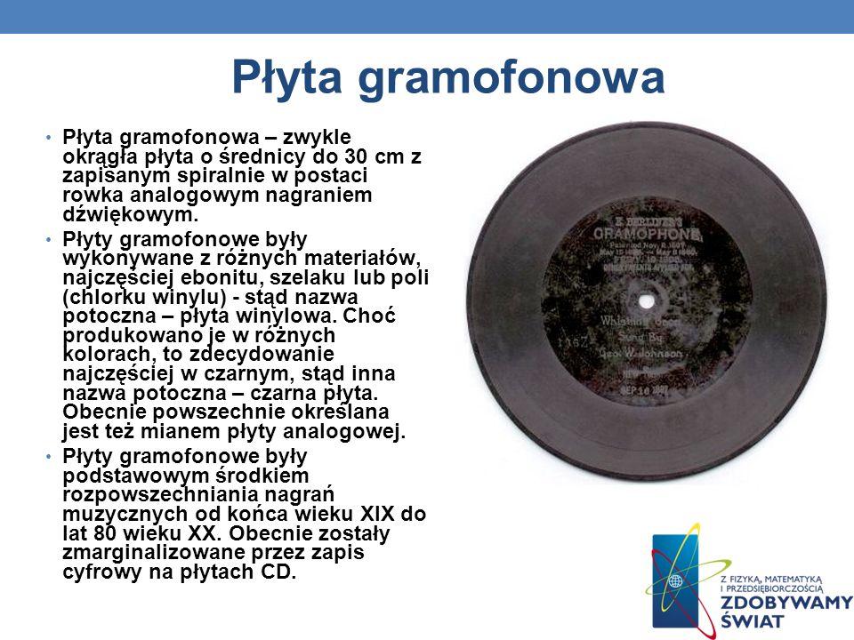 Płyta gramofonowa
