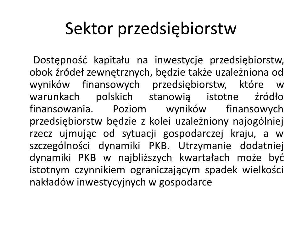 Sektor przedsiębiorstw