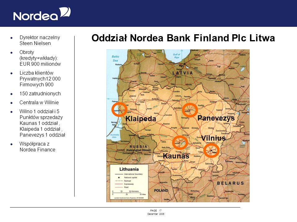 Oddział Nordea Bank Finland Plc Litwa