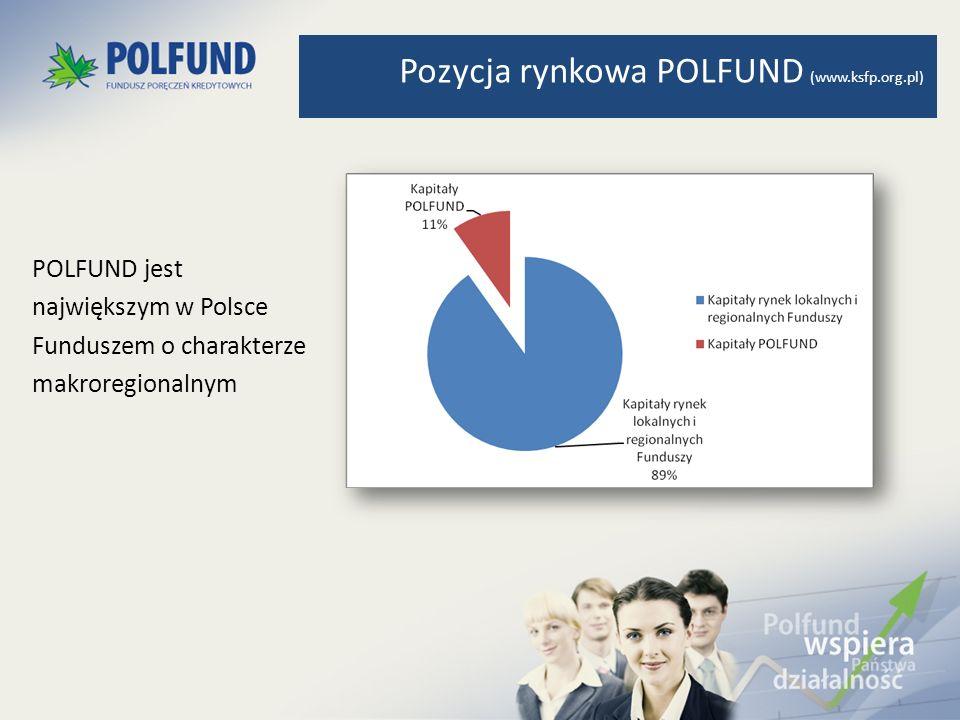 Pozycja rynkowa POLFUND (www.ksfp.org.pl)