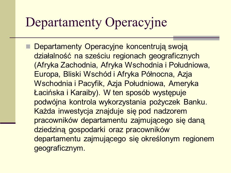 Departamenty Operacyjne