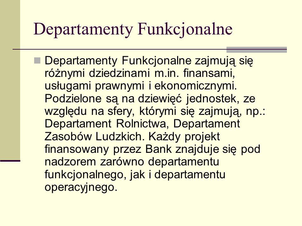 Departamenty Funkcjonalne