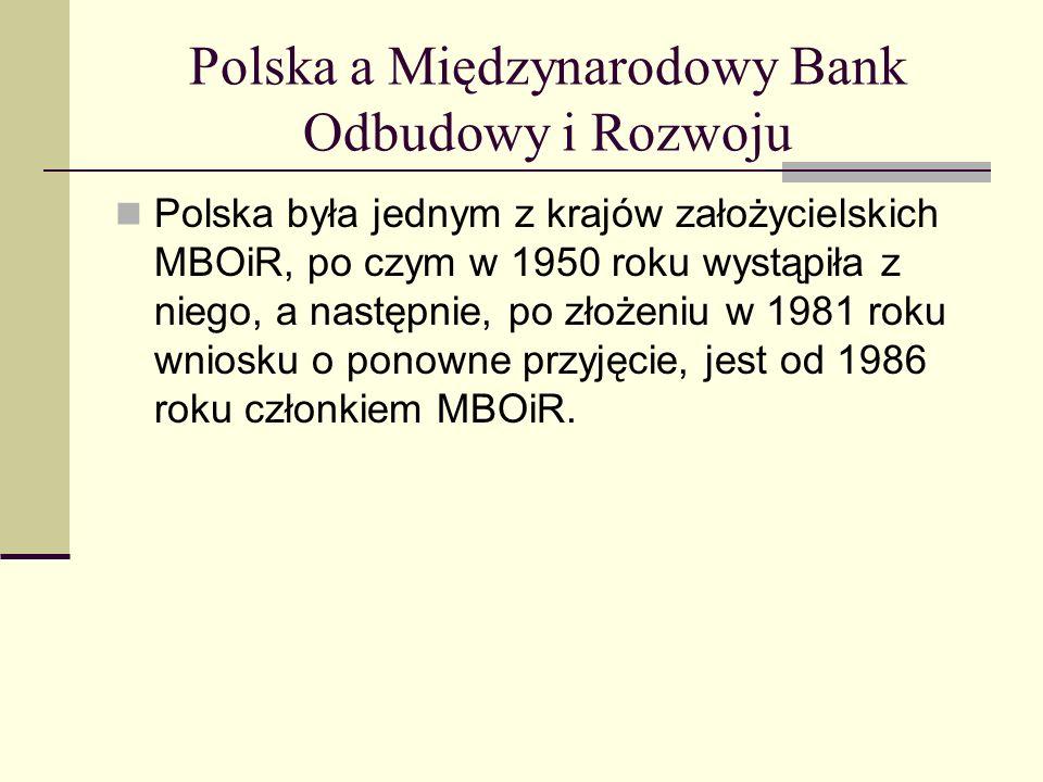 Polska a Międzynarodowy Bank Odbudowy i Rozwoju