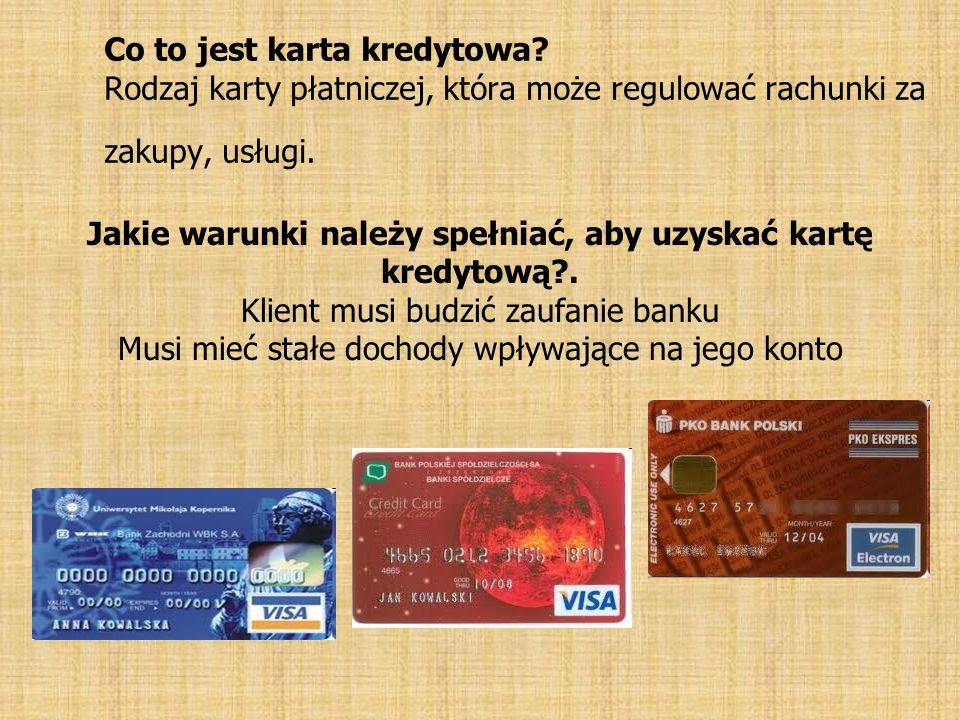 Co to jest karta kredytowa