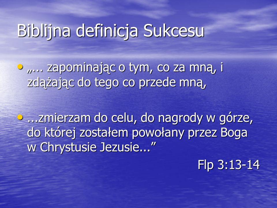 Biblijna definicja Sukcesu