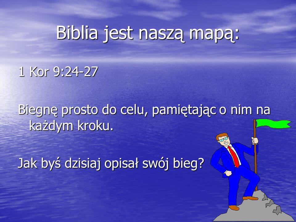 Biblia jest naszą mapą:
