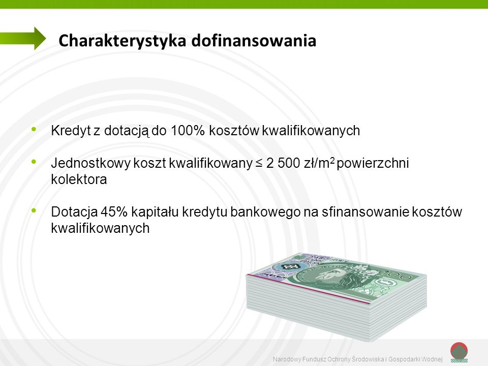 Charakterystyka dofinansowania
