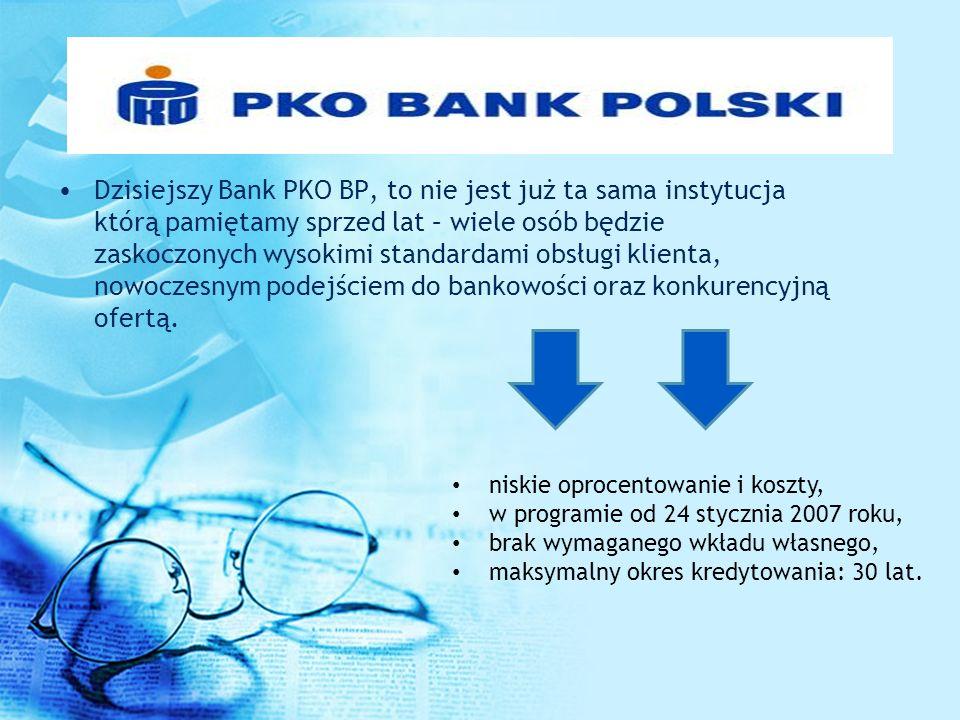 Dzisiejszy Bank PKO BP, to nie jest już ta sama instytucja którą pamiętamy sprzed lat – wiele osób będzie zaskoczonych wysokimi standardami obsługi klienta, nowoczesnym podejściem do bankowości oraz konkurencyjną ofertą.
