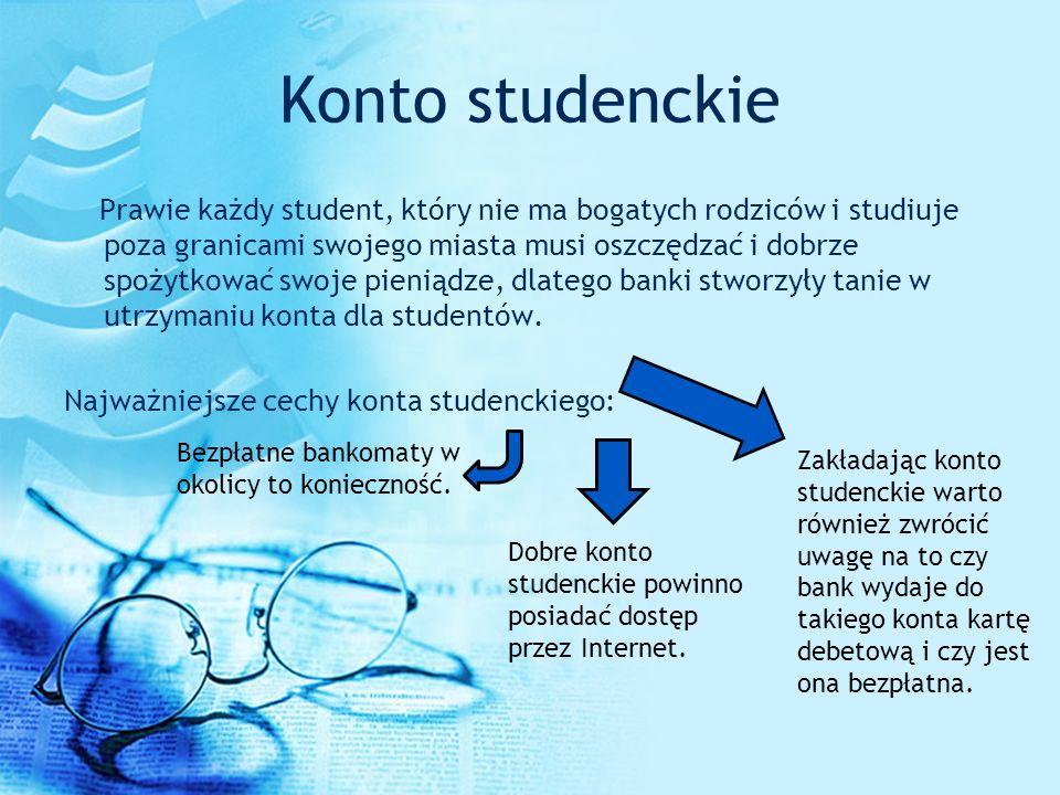 Konto studenckie