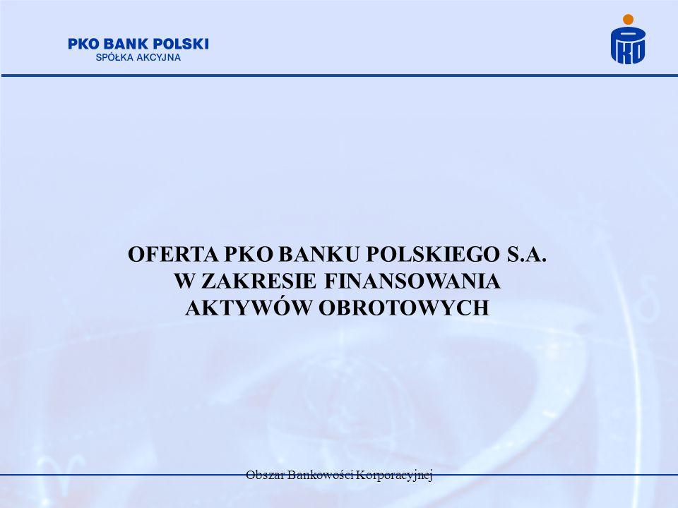 OFERTA PKO BANKU POLSKIEGO S.A. W ZAKRESIE FINANSOWANIA