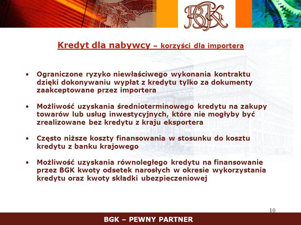 Kredyt dla nabywcy – korzyści dla importera