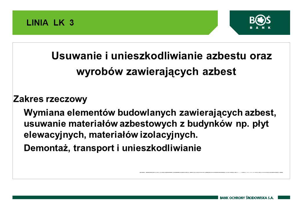 Usuwanie i unieszkodliwianie azbestu oraz wyrobów zawierających azbest