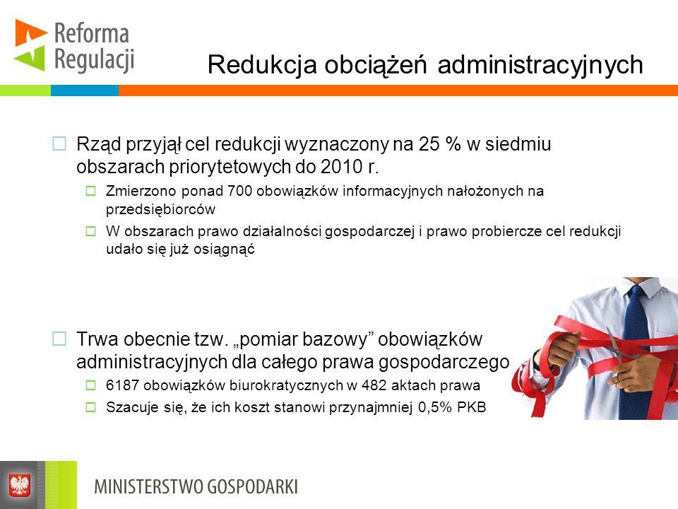 Redukcja obciążeń administracyjnych