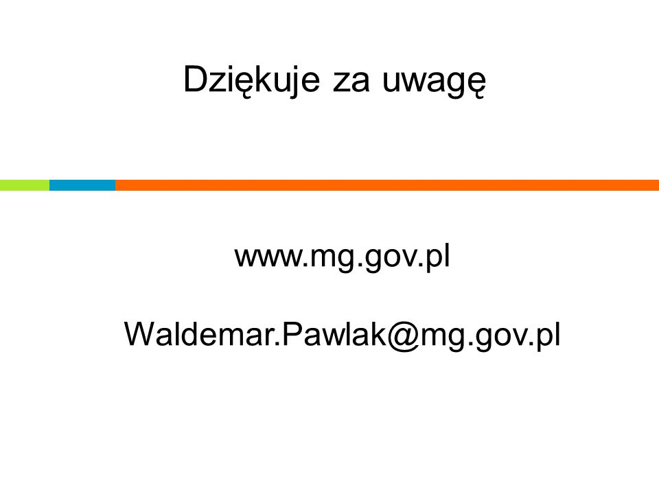 www.mg.gov.pl Waldemar.Pawlak@mg.gov.pl