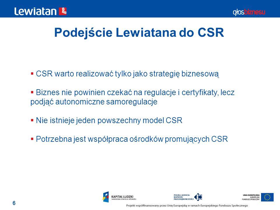 Podejście Lewiatana do CSR