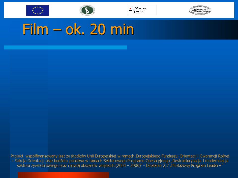 Film – ok. 20 min