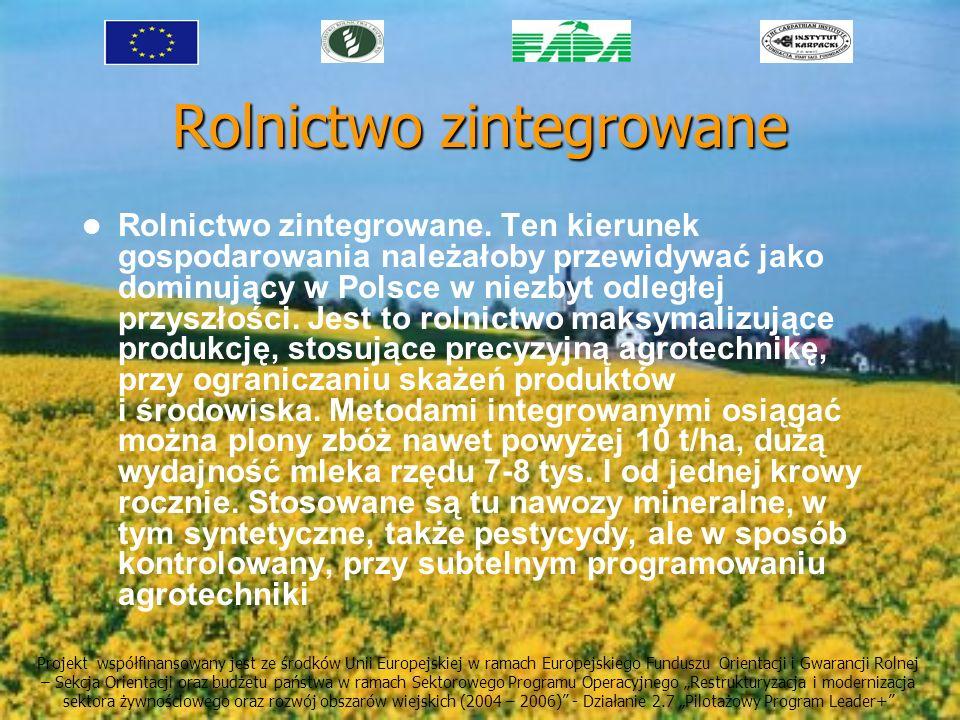 Rolnictwo zintegrowane