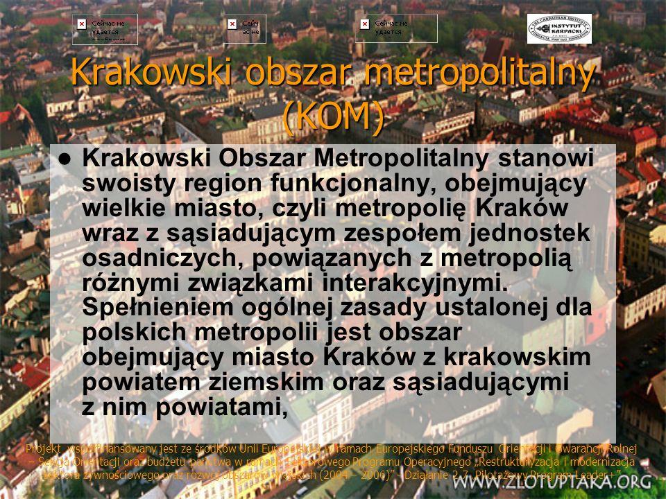 Krakowski obszar metropolitalny (KOM)