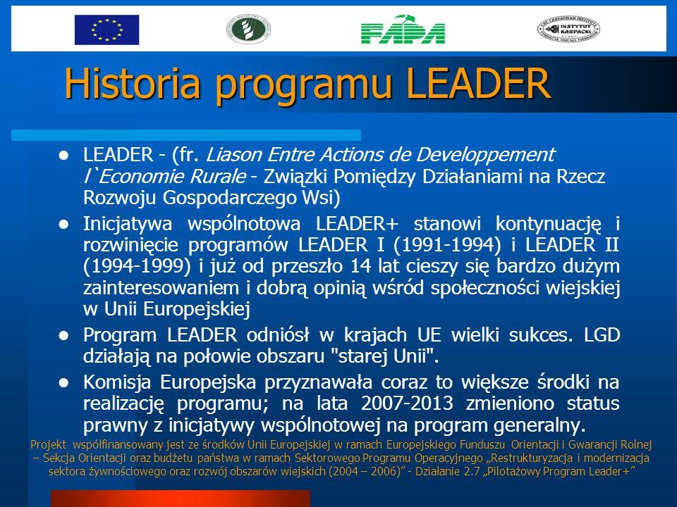Historia programu LEADER