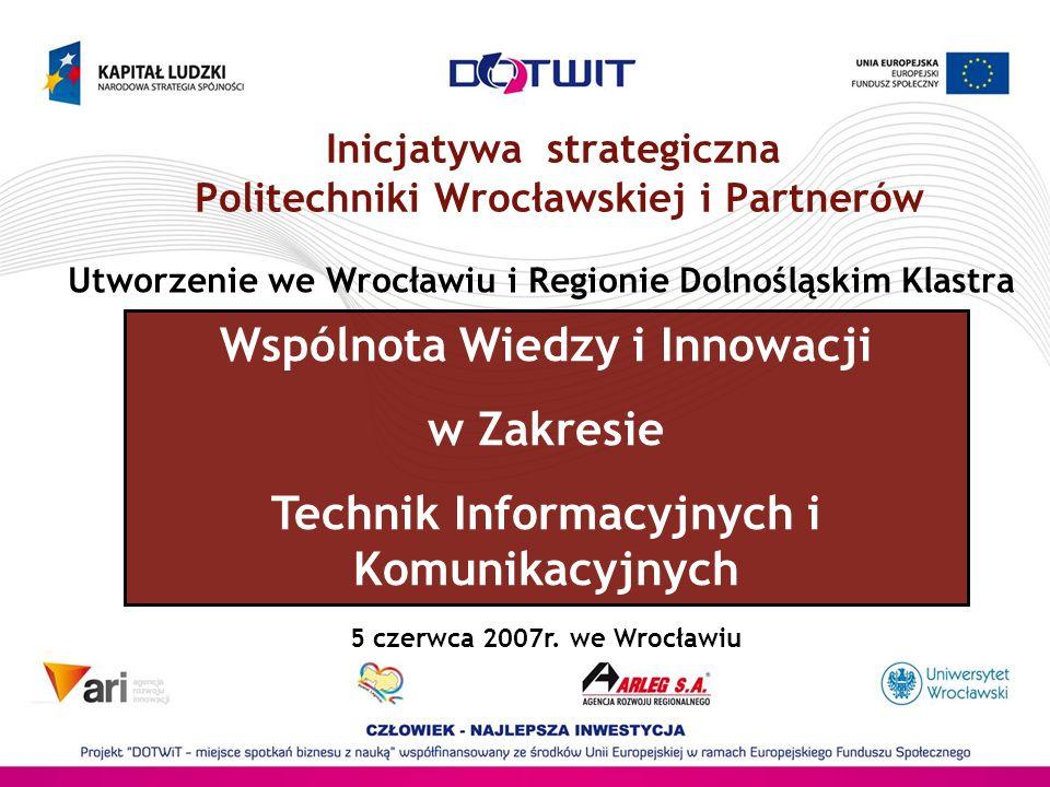 Inicjatywa strategiczna Politechniki Wrocławskiej i Partnerów