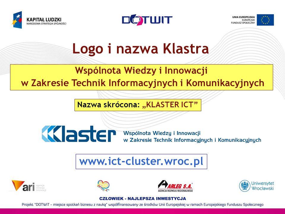 Logo i nazwa Klastra www.ict-cluster.wroc.pl