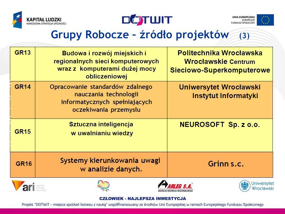 Grupy Robocze – źródło projektów (3)