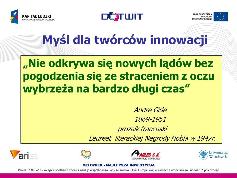 Myśl dla twórców innowacji