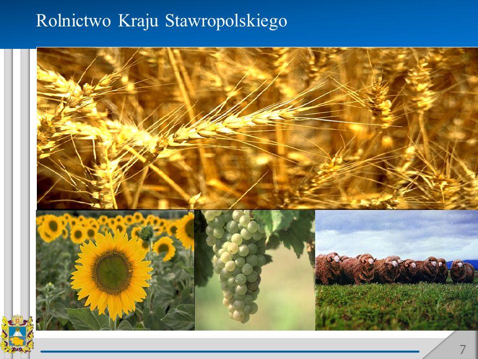 Rolnictwo Kraju Stawropolskiego